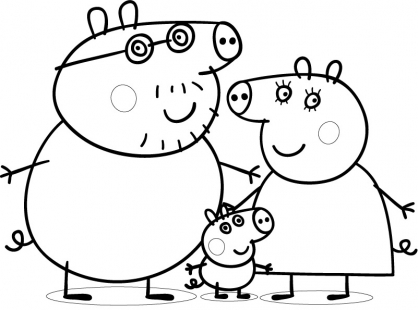Comment dessiner peppa pig - Coloriage peppa cochon ...