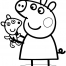 Coloriage Peppa 14