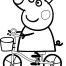 Coloriage Peppa 24