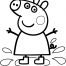 Coloriage Peppa 25