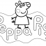 Coloriage Peppa 26