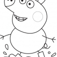 Coloriage Peppa 3