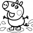 Coloriage Peppa 31