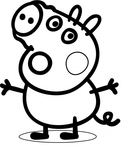 Coloriage Peppa 32