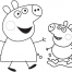 Coloriage Peppa 4