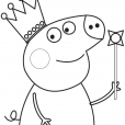 Coloriage Peppa 5