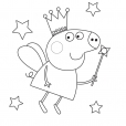 Coloriage Peppa 6