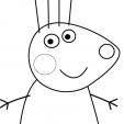 Coloriage Peppa 7