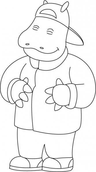 Coloriage petit potam 10 coloriage petit potam coloriage dessins animes - Gulli fr coloriage ...