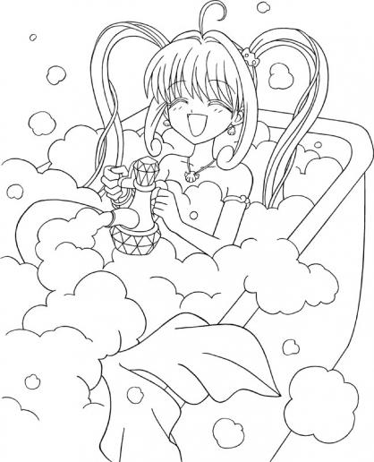 Coloriage pichi pichi pitch 16 coloriage pichi pichi pitch coloriage dessins animes - Dessin de pichi pichi pitch ...