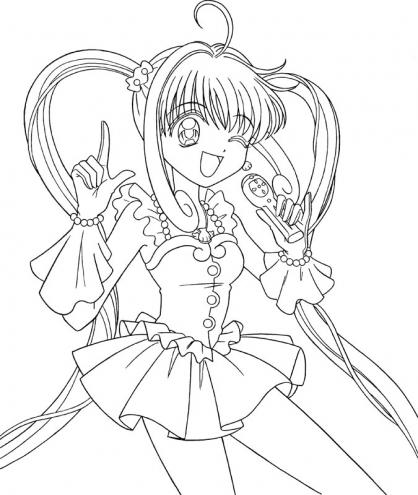Coloriage pichi pichi pitch 17 coloriage pichi pichi pitch coloriage dessins animes - Dessin de pichi pichi pitch ...