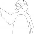 Coloriage Pingu 12
