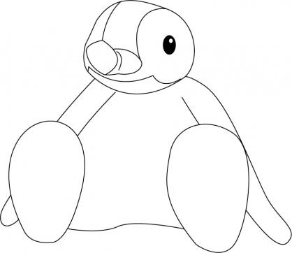 Coloriage Pingu 13