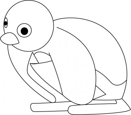Coloriage Pingu 25