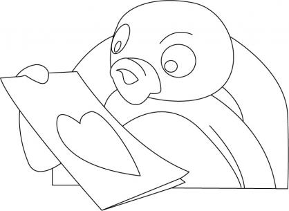 Coloriage Pingu 5