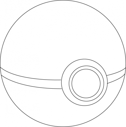 Coloriage Poké Ball