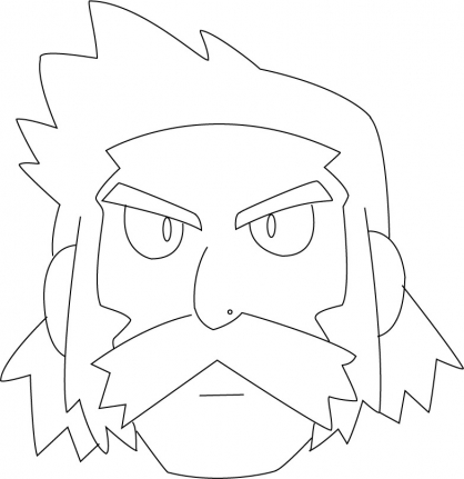 Coloriage Pokémon 43