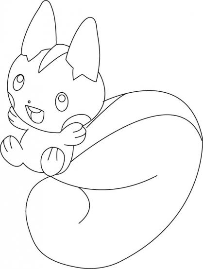 Coloriage Pokémon 57