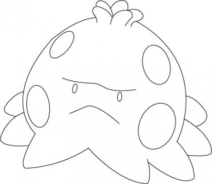 Coloriage Pokémon Balignon