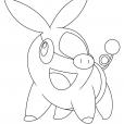 Coloriage Pokémon Gruikui s14