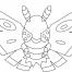 Coloriage Pokémon Papinox