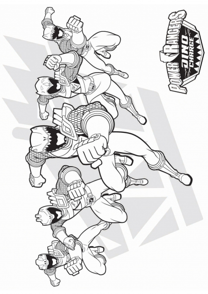Coloriage les power rangers coloriage power rangers dinocharge coloriage dessins animes - Dessin power rangers ...
