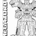 Coloriage Megazord