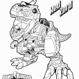 Coloriage Red Zord