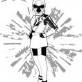 Coloriage Ranger Blanc