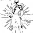 Coloriage Ranger Rouge