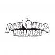 Coloriage Logo Power Rangers Super Megaforce