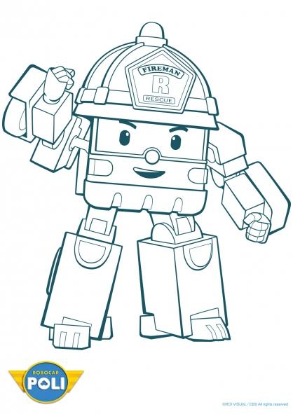 Coloriage robocar poli roi 4 coloriage robocar poli coloriage dessins animes - Dessin anime de robocar poli ...