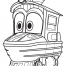 Coloriage La locomotive Duck