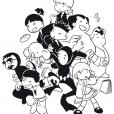Coloriage Shuriken School 2