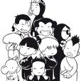 Coloriage Shuriken School 3