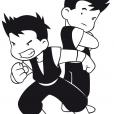 Coloriage Shuriken School 5