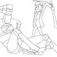 Coloriage Spirou et Fantasio 12