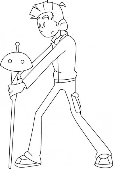 Coloriage Spirou et Fantasio 16