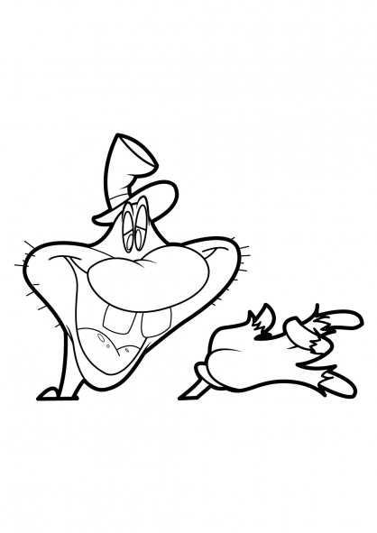 Coloriage Tex Avery 11