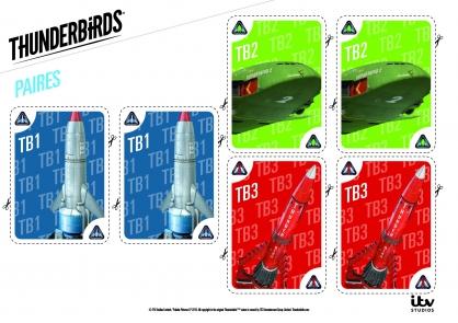 Coloriage Les paires de TB1, TB2 et TB3