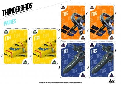 Coloriage Les paires de TB4, TB5 et TBS