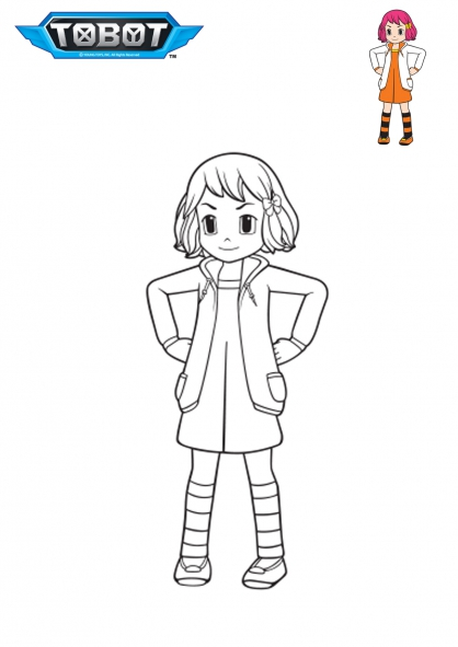 Coloriage Dolly