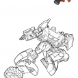 Coloriage Tobot Z