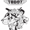 Coloriage Tobot