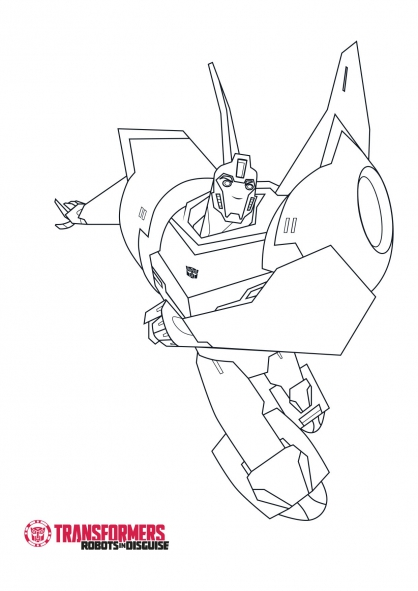 Coloriage bumblebee 1 coloriage transformers robots in - Coloriage transformers ...