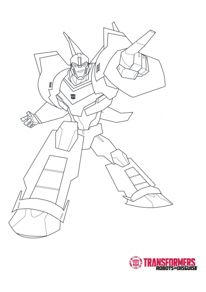 Coloriage Bumblebee 2