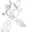 Coloriage Bumblebee 6
