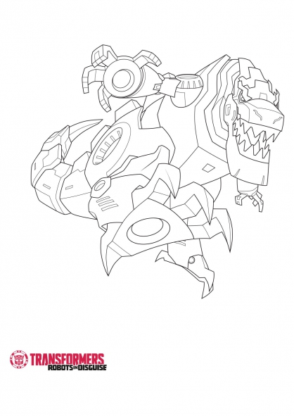 Coloriage Transformers Robots In Disguise Dessins Animes