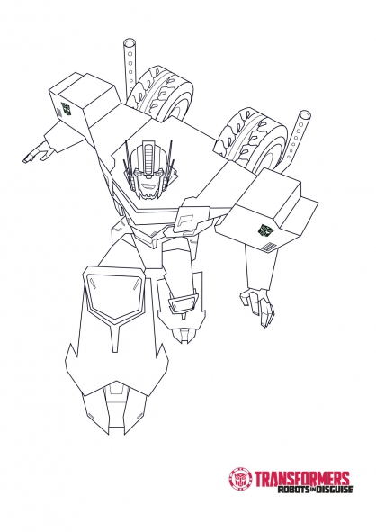 Coloriage Optimus 1