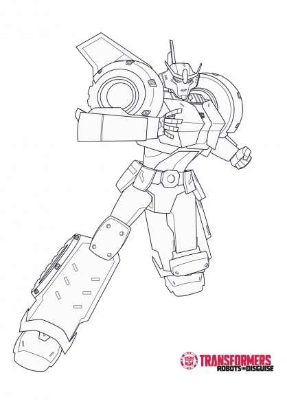 Coloriage Strongarm 1